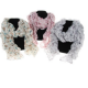 Ladies Ruched Butterfly Scarf Available in 3 Colours. 9988